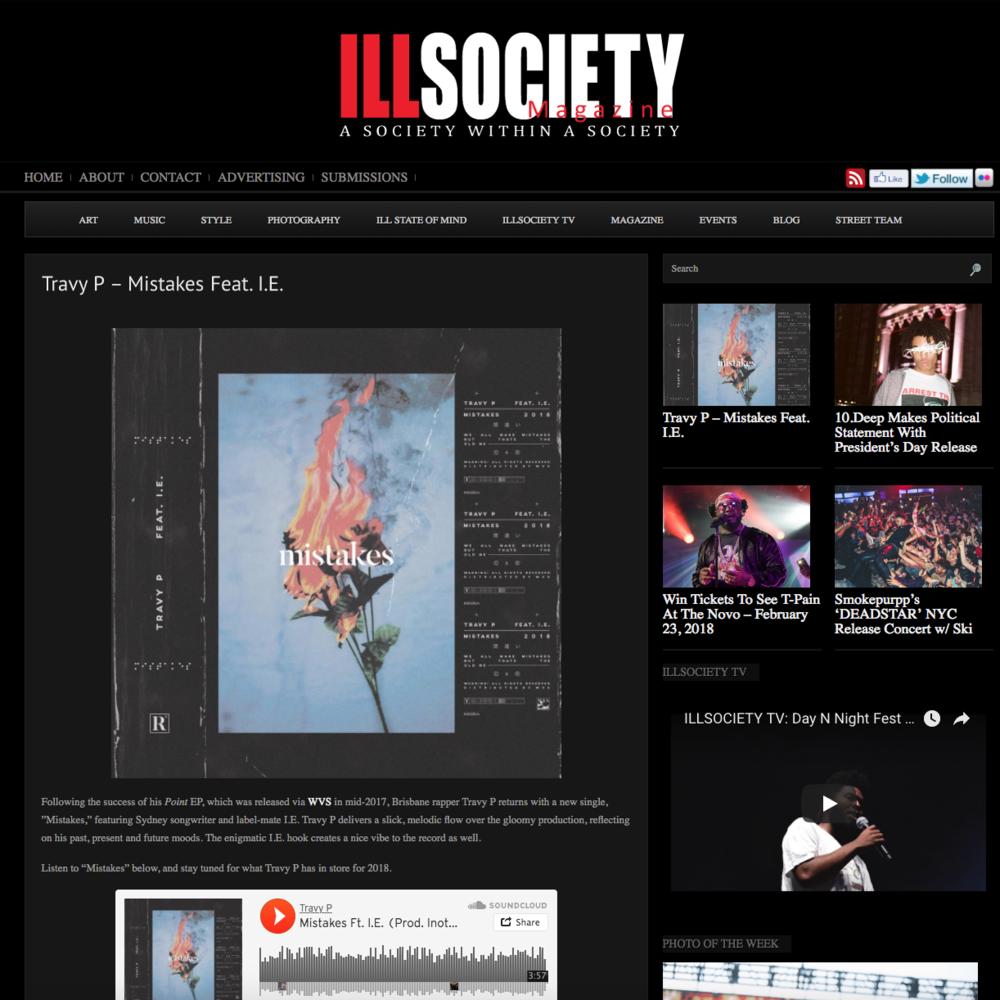 IllSociety Magazine - March 6th 2018