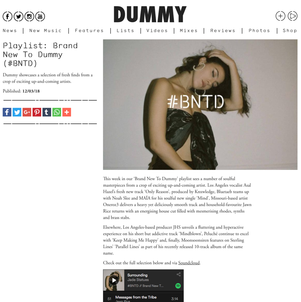 Dummy Mag - March 12th 2018
