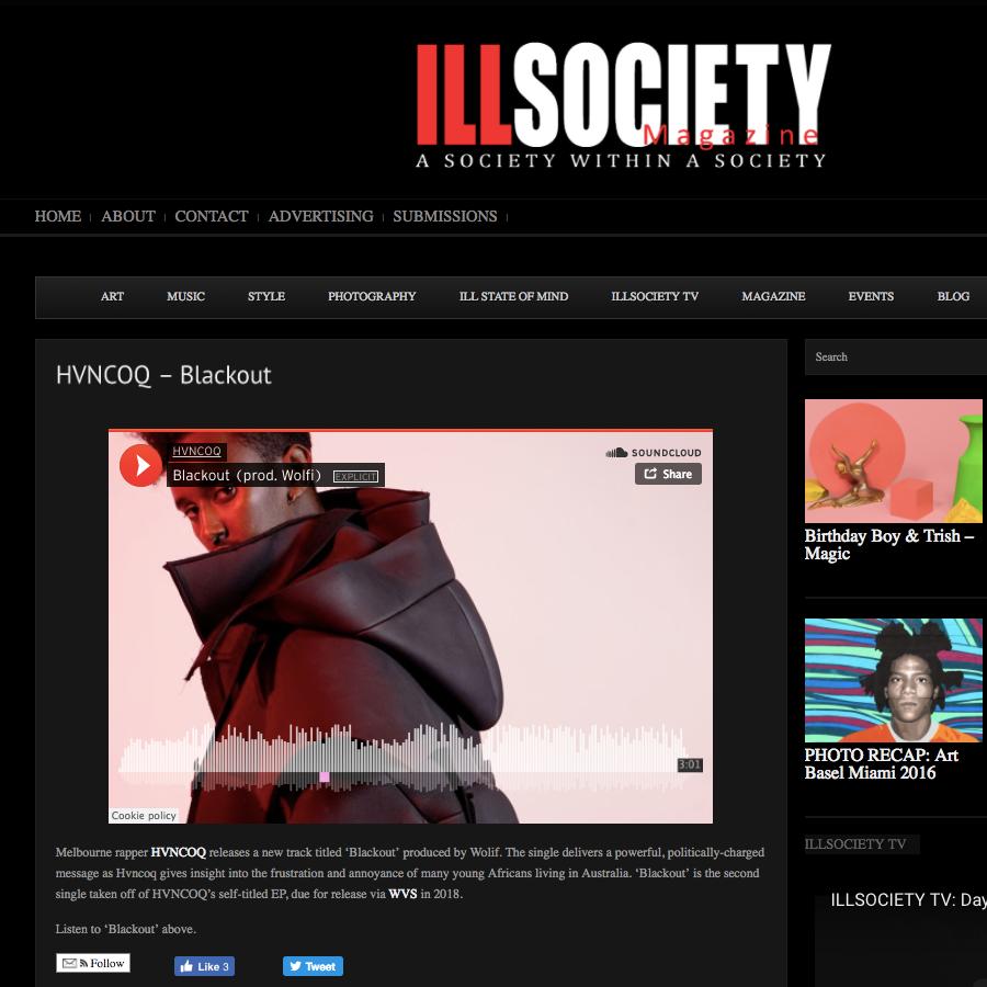 Ill Society Magazine: Music - December 4th 2017