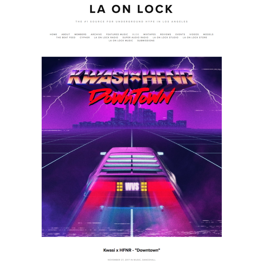 LA on Lock: Blog - November 27th 2017