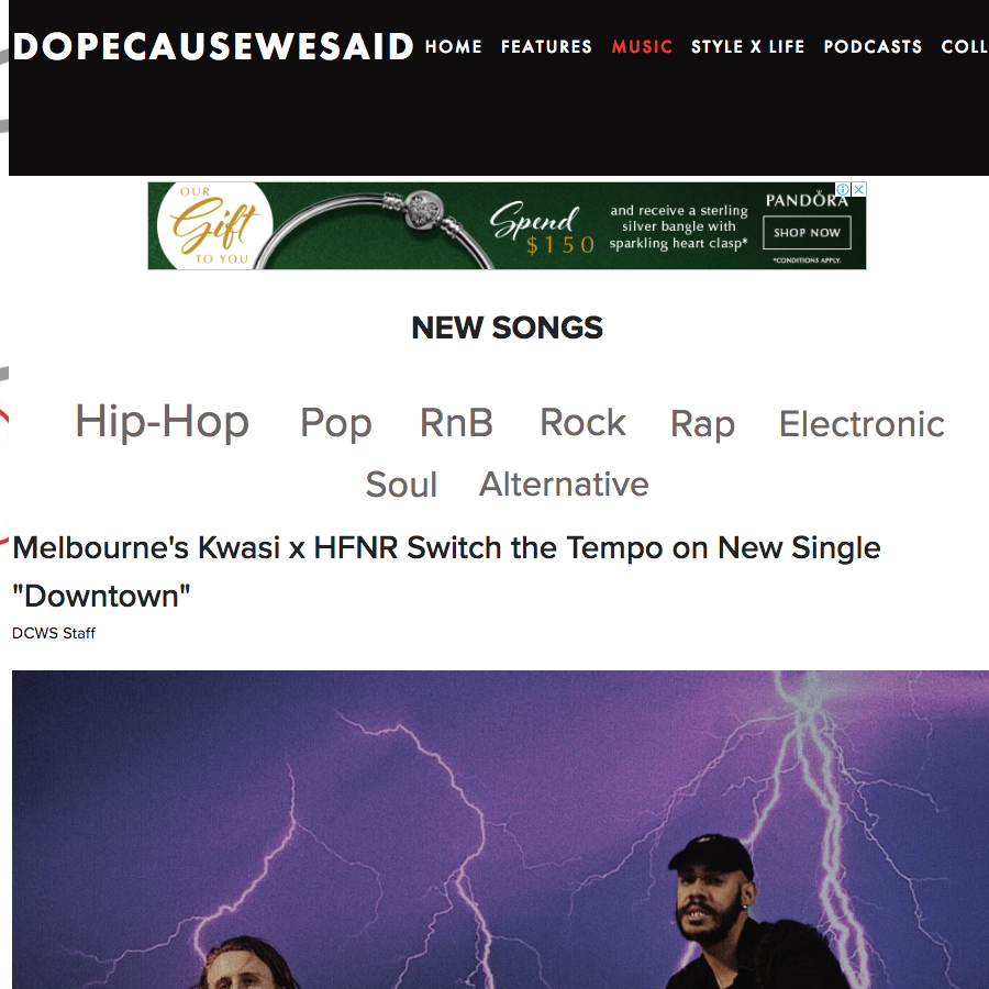 Dope Cause We Said: Music -