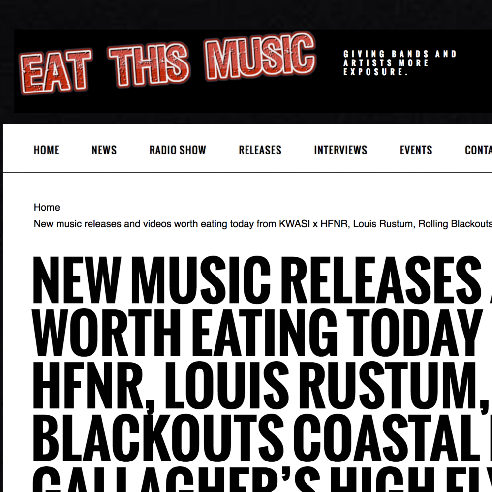 Eat This Music - April 10th 2018