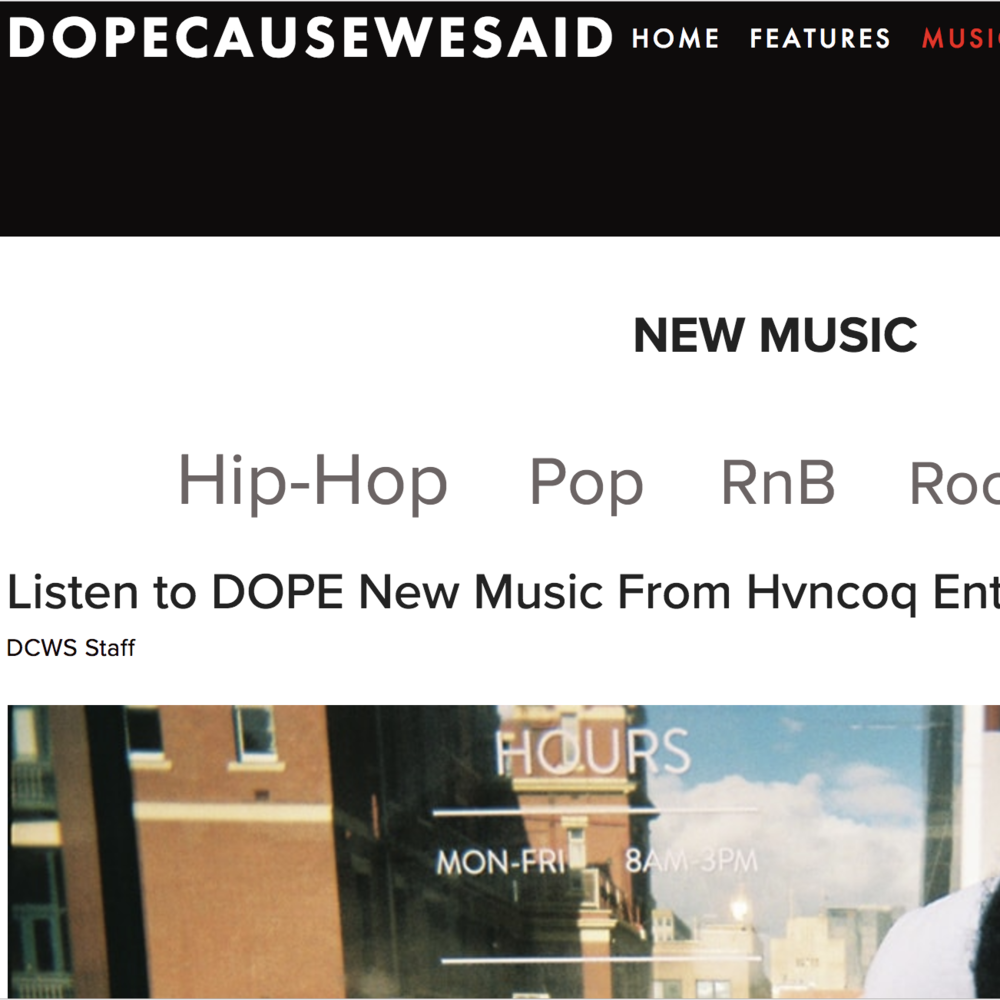 DopeCauseWeSaid - August 7th 2018