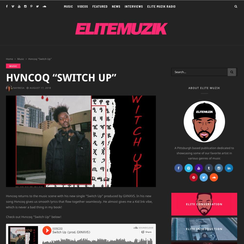 EliteMuzik - August 17th 2018