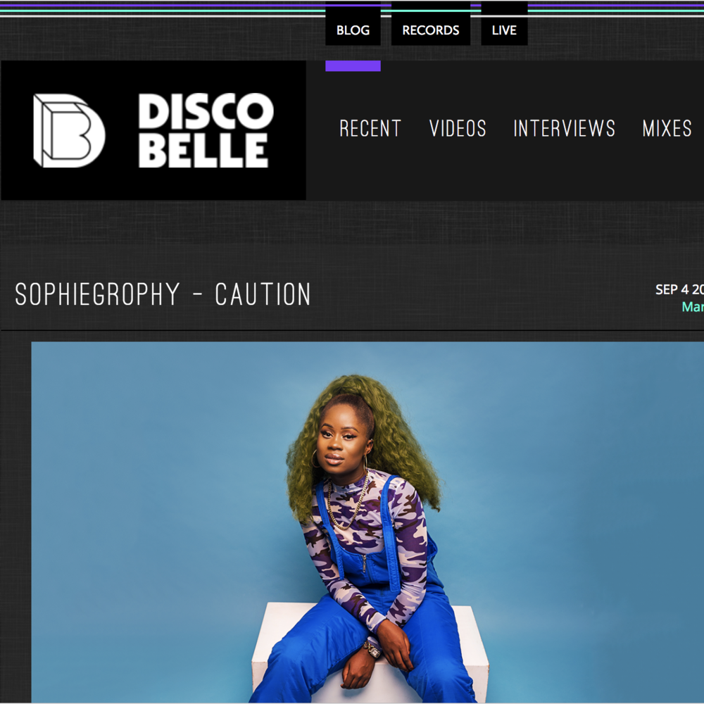 Discobelle - September 4th 2018
