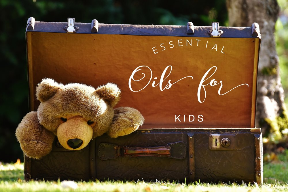 Using Young Living essential oils for kids