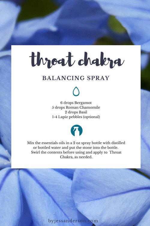 Part 3 // Chakras & Oils Series — nature wellness beauty