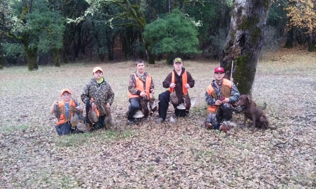 Club sponsored Junior pheasant hunt