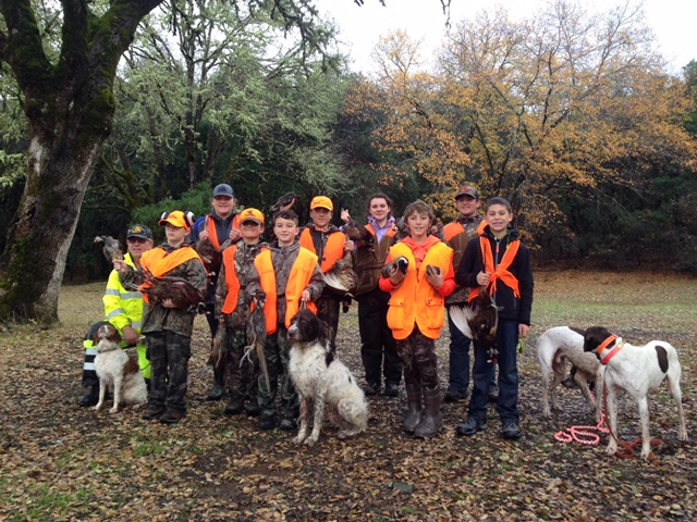 Club sponsored Junior Pheasant hunt