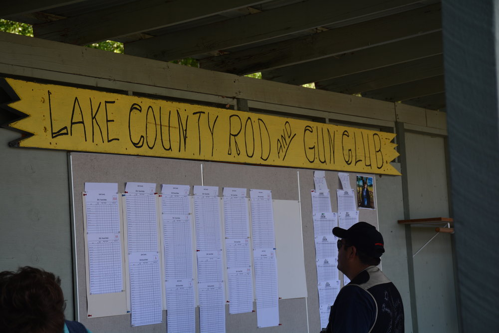 The score board for all classes during the two day event of the Round Robin