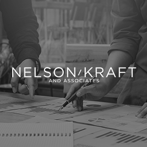 Nelson Kraft   Helping to develop a new brand identity, and bring a company's vision to life.