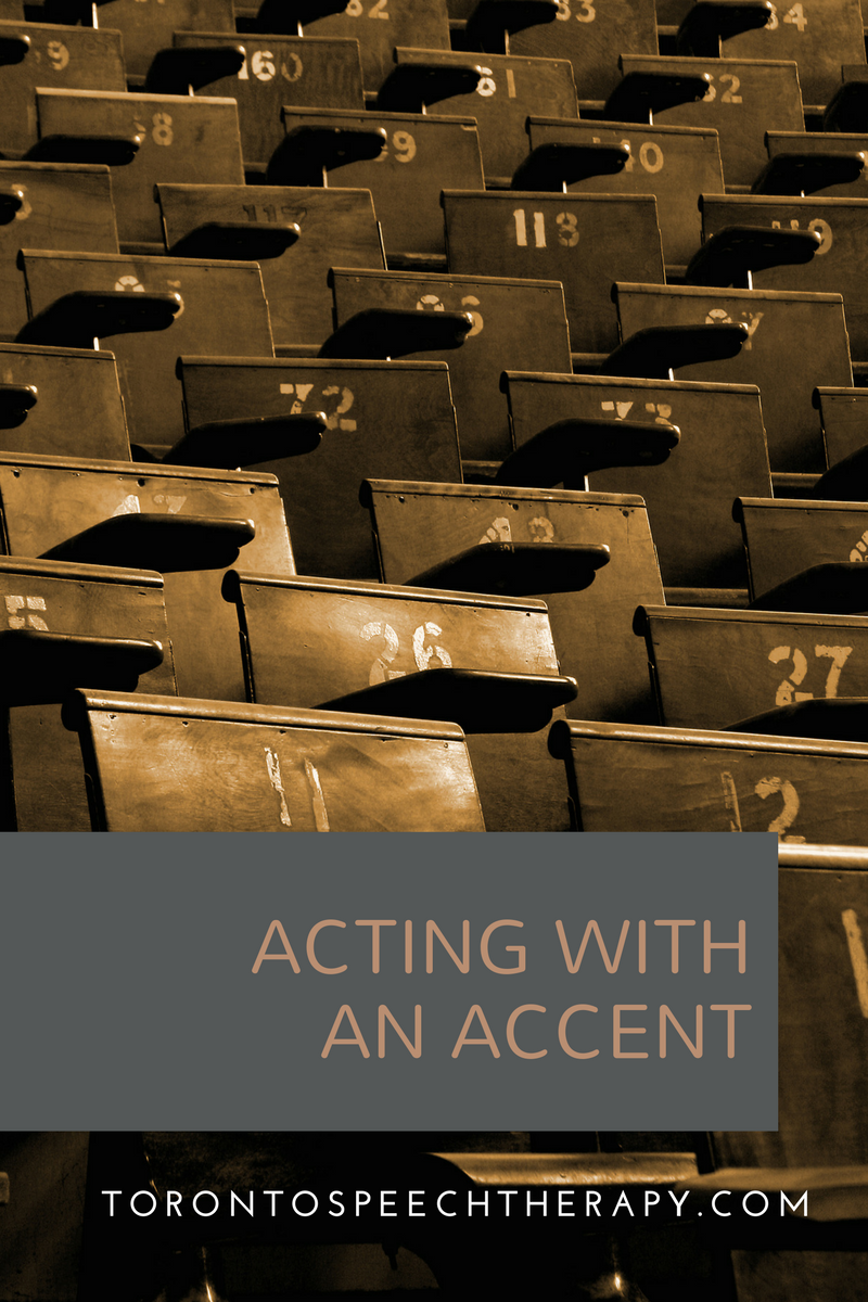acting with an accent or actors accent training