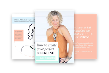 How To Create Your Perfect Neckline - FREE PDF ebook