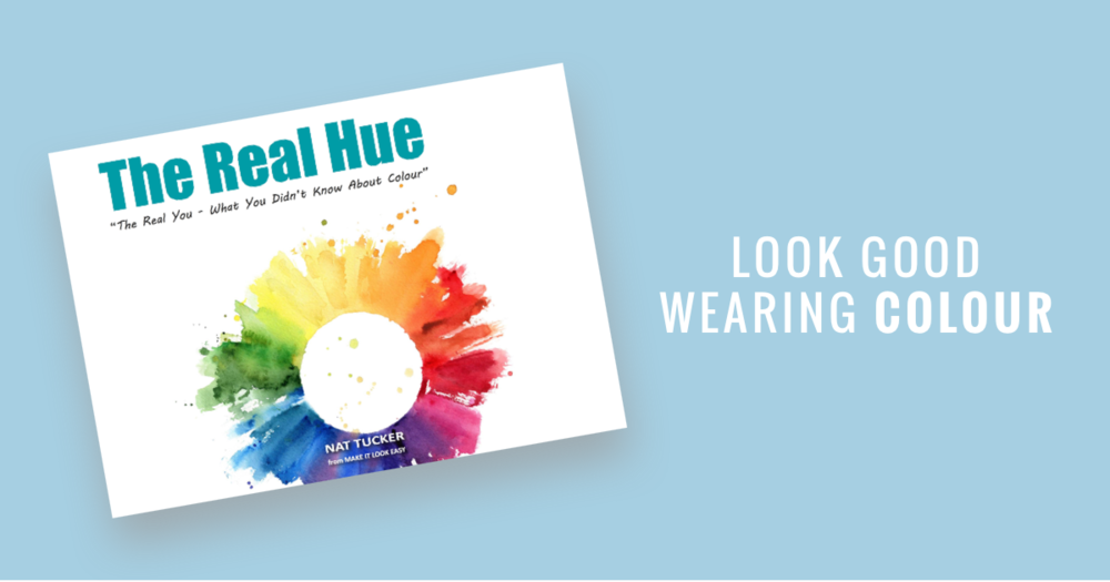 Are you in yet on the secret to getting dressed and looking great in colour, in minutes? - The Real Hue: What You Didn't Know About Colour.My best-selling ebook yet, it helps hundreds of women like you put together awesome outfits and style their homes beautifully. Because there's more to life than just black & white.Click the button below to grab a copy. Or a few, they also make great gifts for friends!