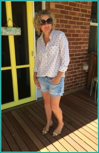 Shirt and shorts April 2015