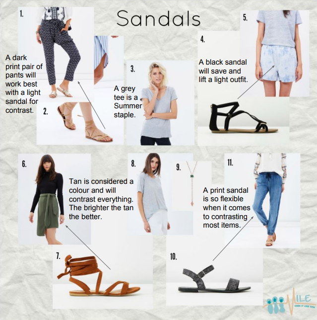Black Tan Print Sandals.PNG
