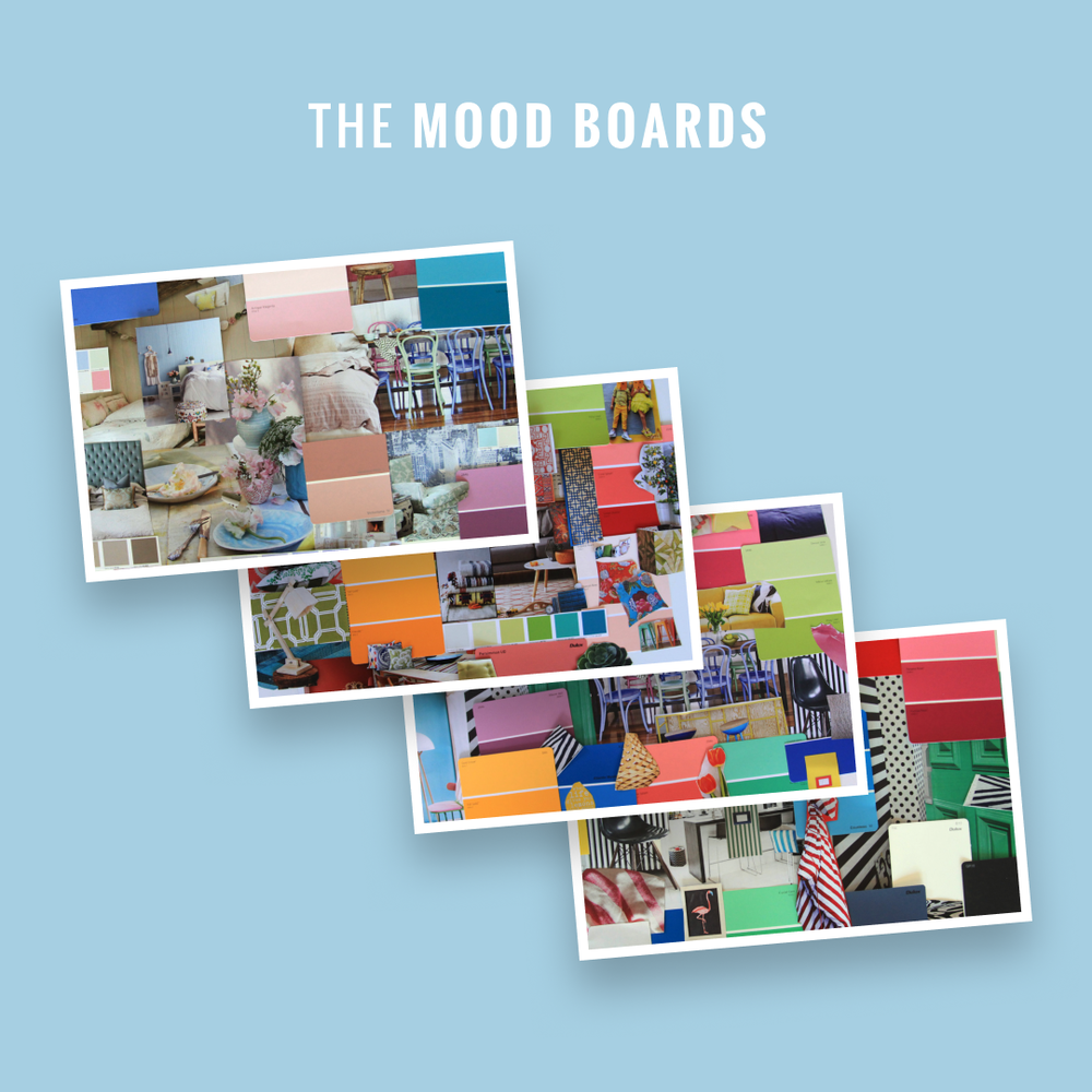 The Mood Boards by Nat Tucker