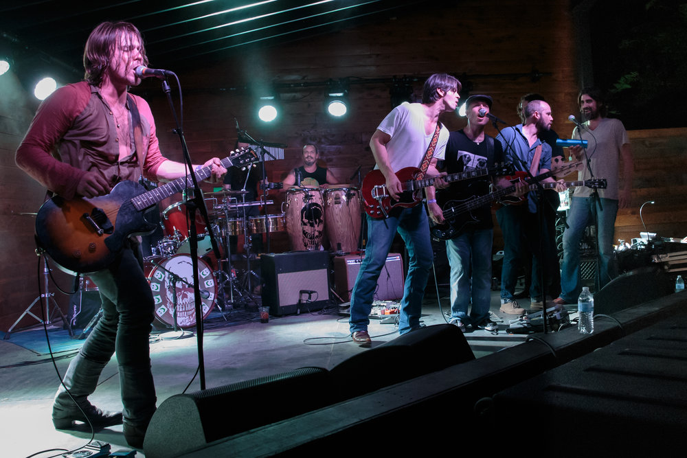 Angry Armadillo Music  Presents LUKAS NELSON & PROMISE OF THE REAL w/ THE BAND OF HEATHENS - The Historic Scoot Inn, Austin, TX (July 12, 2014)