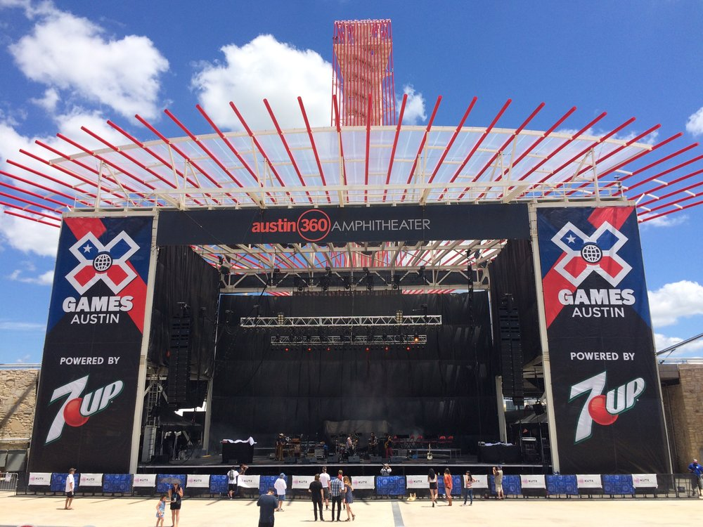 Angry Armadillo Music  is proud to have worked alongside the X-Games Production team in Austin, TX (2014-'16)