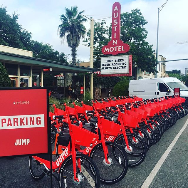 Great event with @jump_rides and @rollingstone today #ATX #ridewithjump #ebike