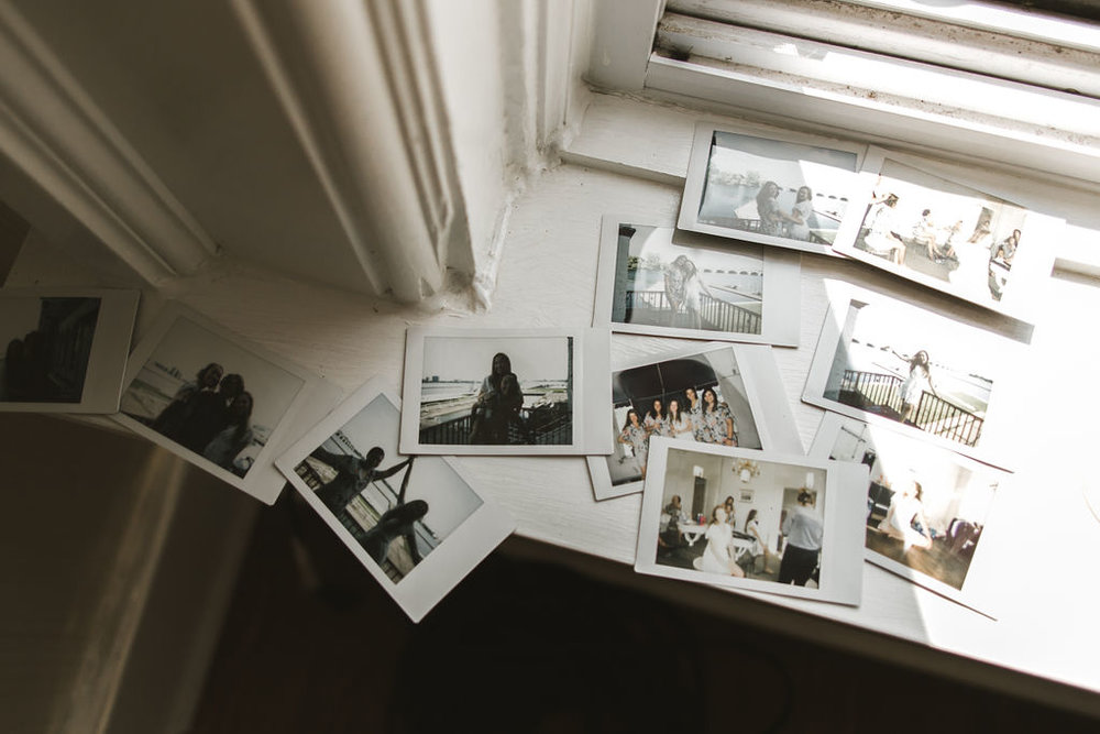 I always love when disposable cameras are a part of the wedding day. It might be how I shoot my own imaginary wedding! Lol. It's so fun to see the day from endless perspectives.
