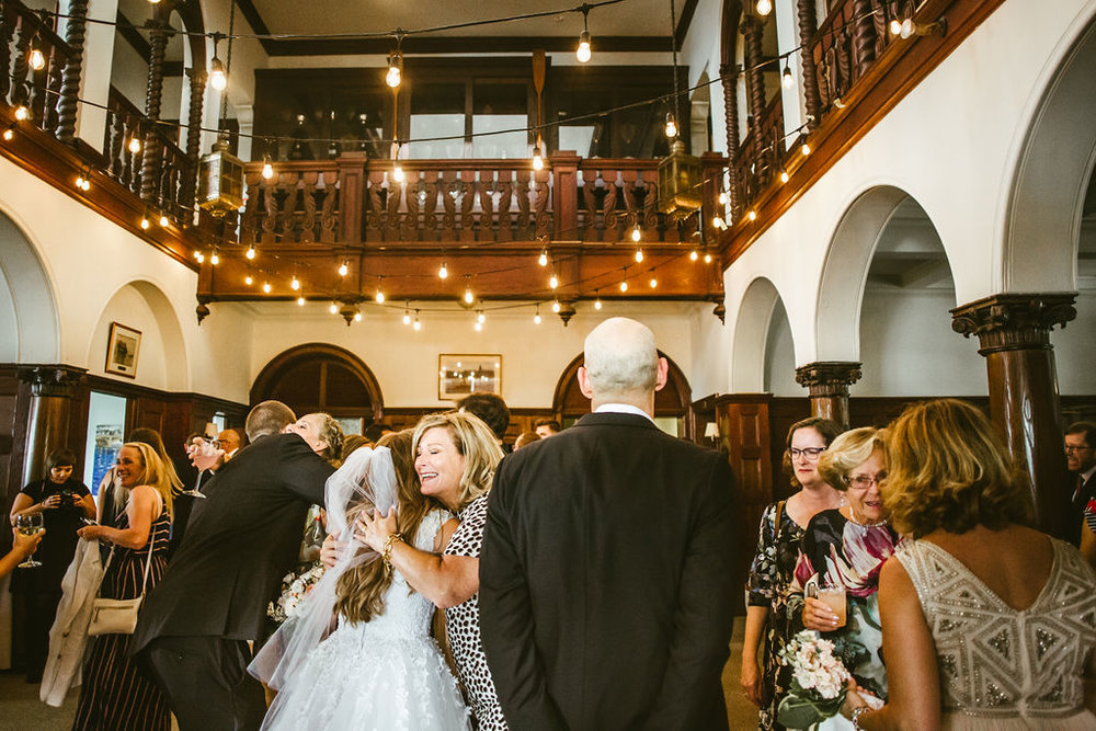 I was stunned at the love that was shared at this wedding. Not just between Bridget and Ted, but their whole family.