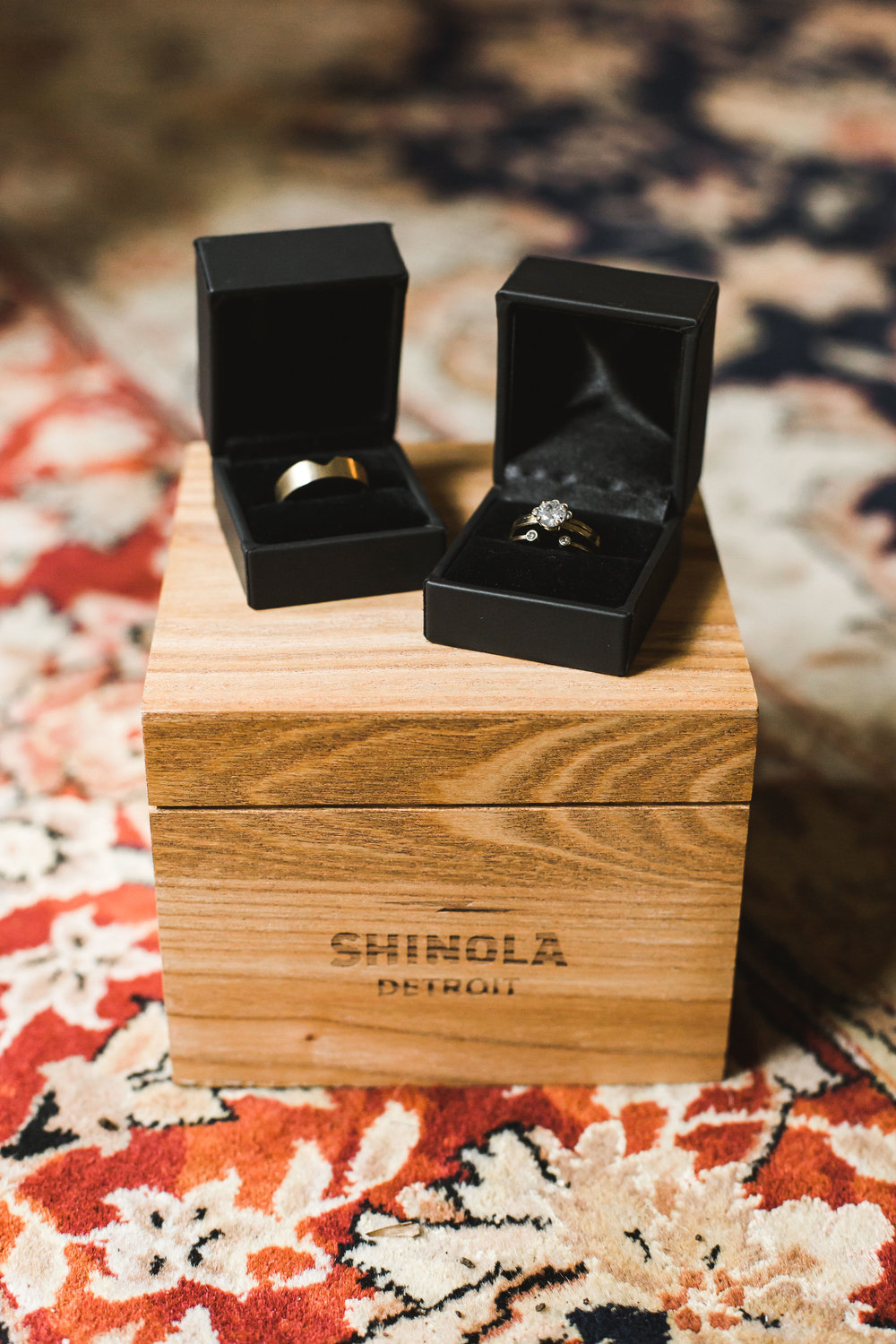 Shinola Watch Groom Wedding Details