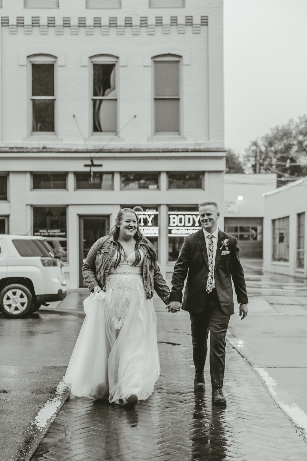 Downtown Ypsilanti Wedding Photos