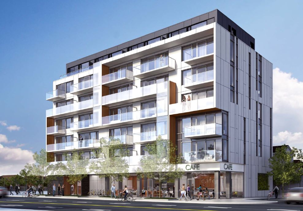 Mid-Rise Mixed Use Development Location: City of Toronto Client: 2270-2280 Eglinton Avenue West GP Inc. Type: Mixed-Use Date: 2012 - Present