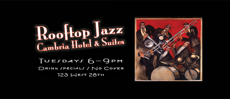Rooftop Jazz Ian Hutchison Slap Happy Prohibition Productions