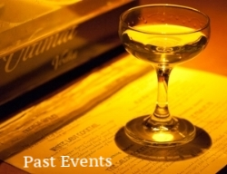 click here for a list of all our past events