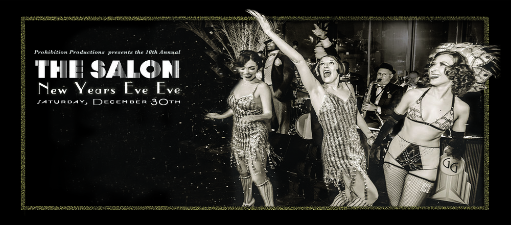 THE SALON: New Years Eve Eve (Dec 30th)