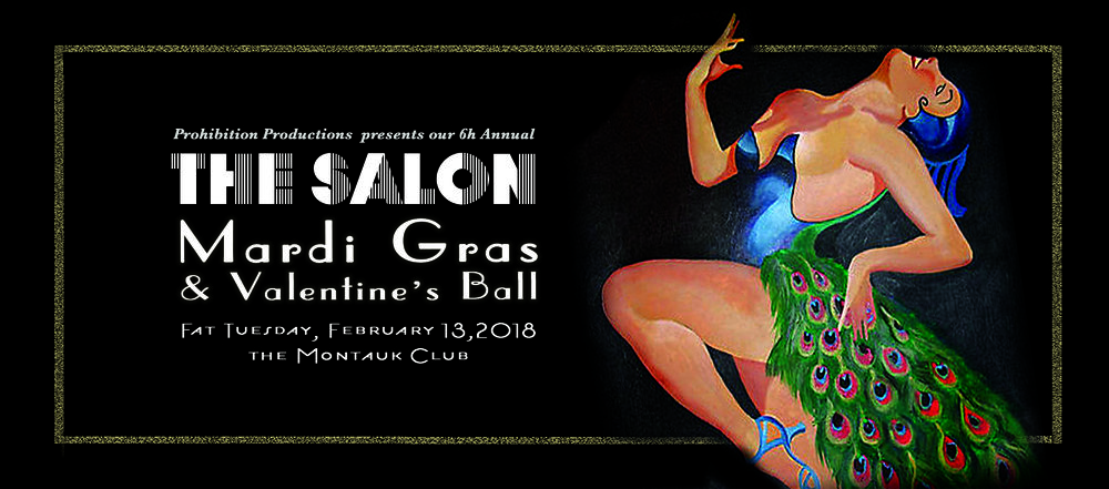 THE SALON: Mardi Gras & Valentine's Ball (Feb 13th)
