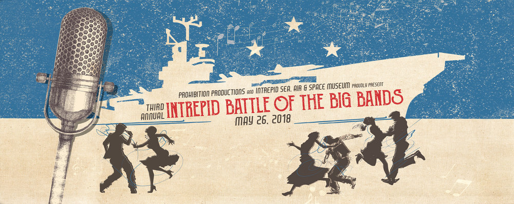 INTREPID: Battle of Big Bands (May 26th)