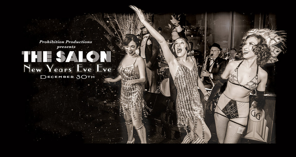 THE SALON: New Years Eve Eve (Dec 30, 2018)