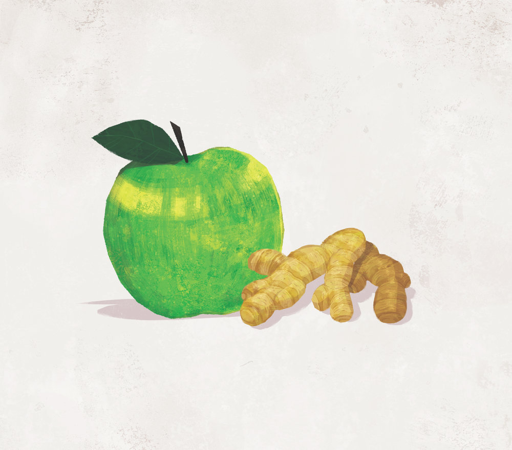 Granny Smith & Ginger
