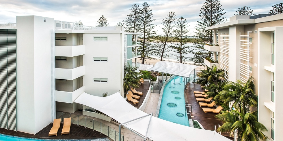 Rumba Beach Resort, Caloundra.