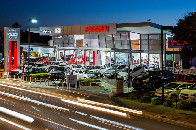 Commercial architecture photography: Nissan Metro Windsor motor