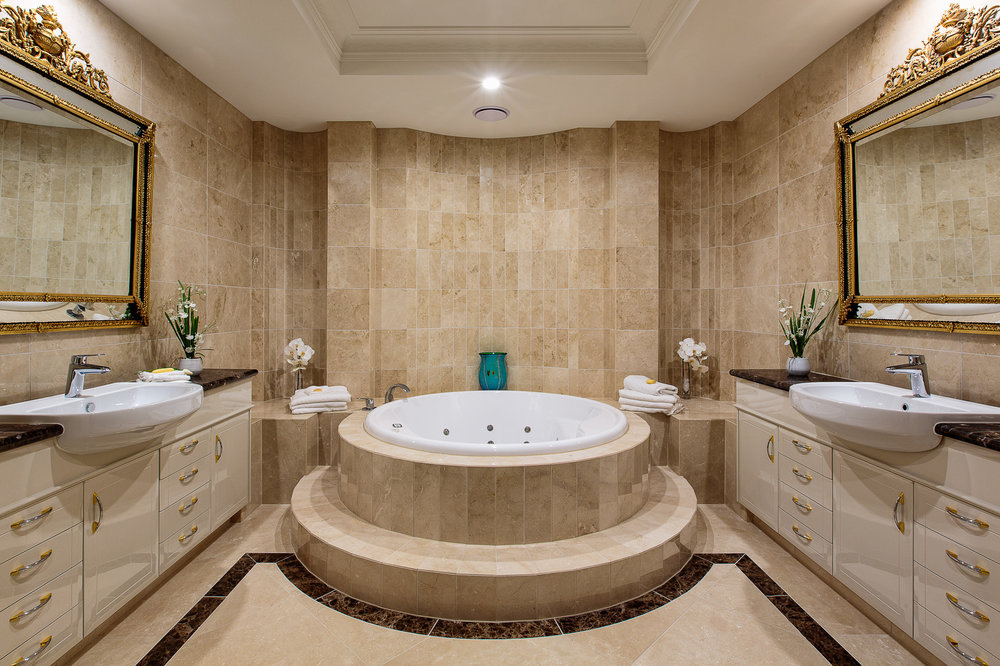 Architectural project bathroom interior photography