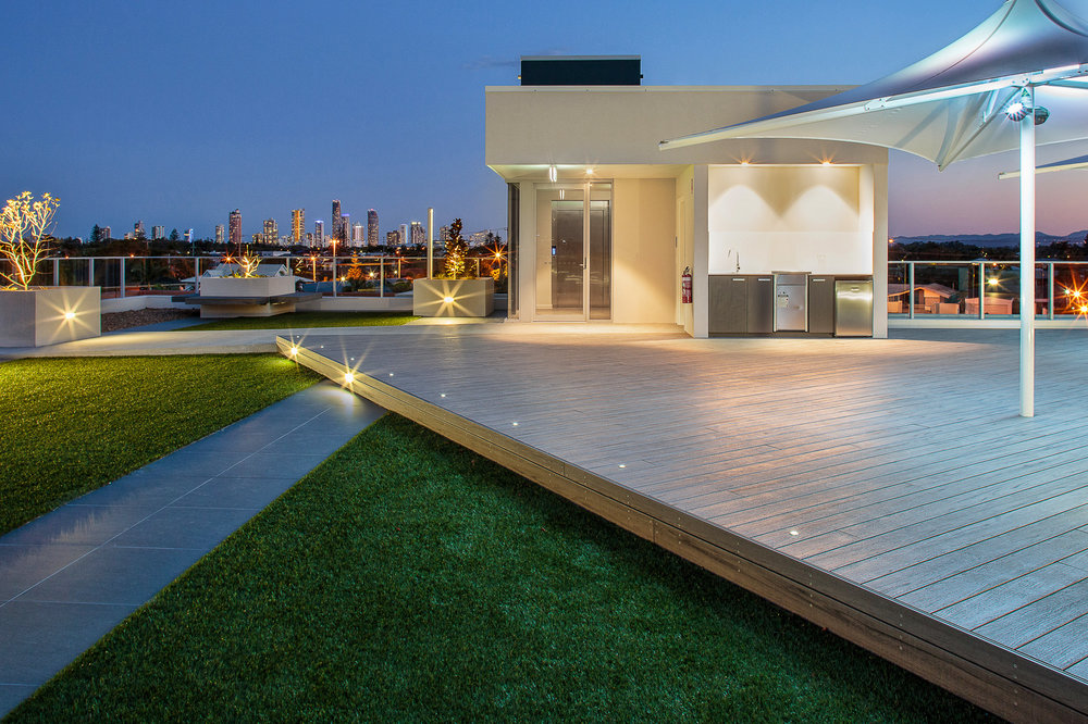 Rooftop terrace for Gold Coast multi-residential project Alto