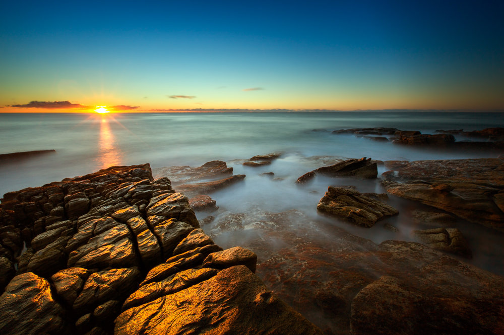 Sunrise at Point Arkwright in Queensland