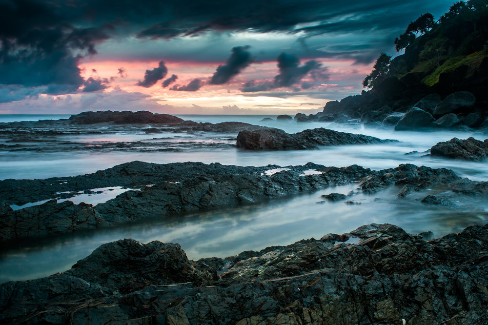 First light at Coolangatta in Queensland