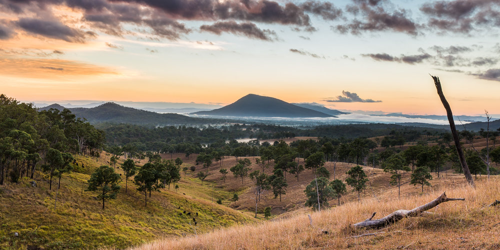 Scenic Rim scenery in southeast Queensland
