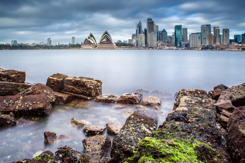 Sydney Opera House from Kirribilli