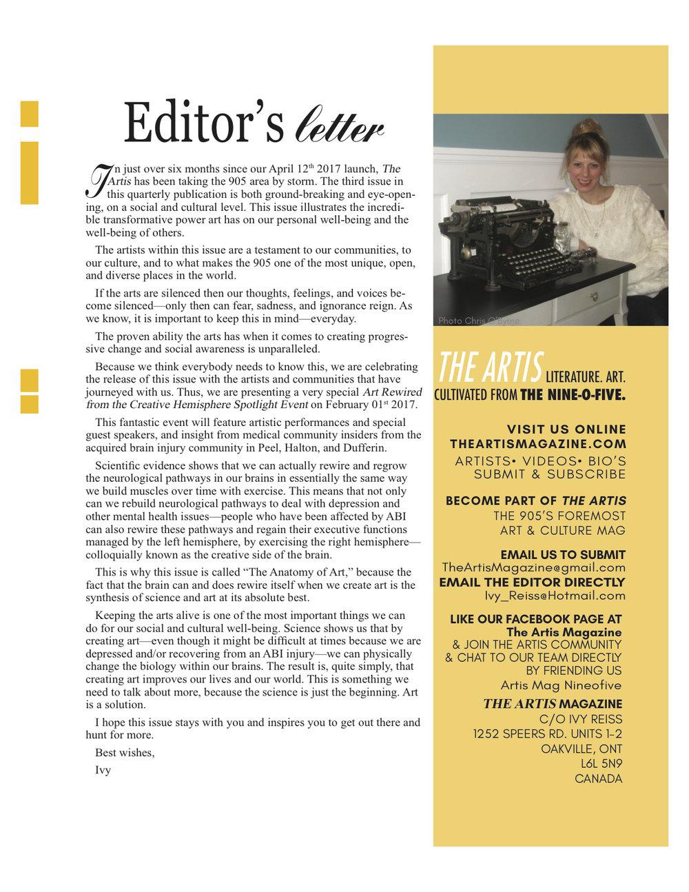 Artis 3 editors letter.jpg