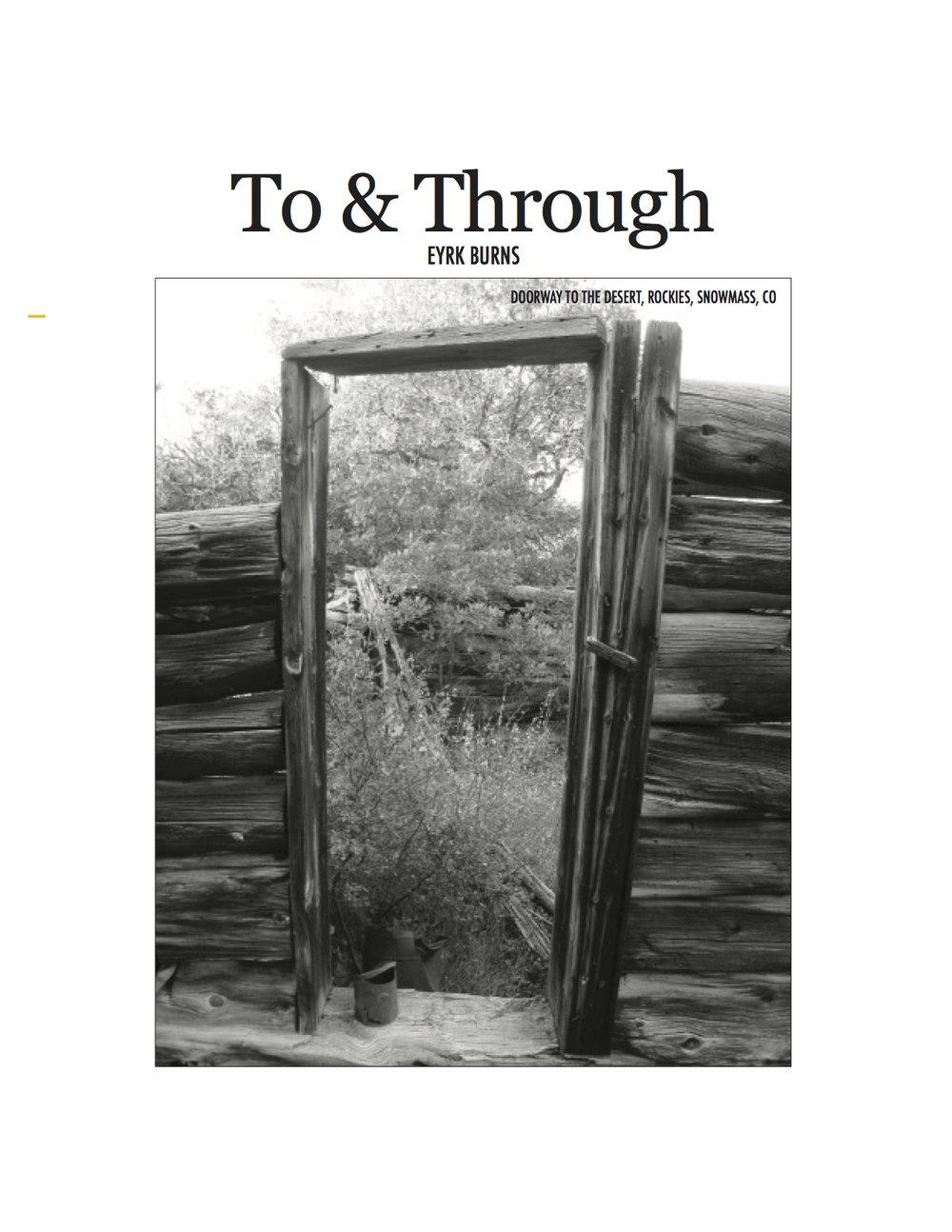 Artis 1 To & Through cover.jpg