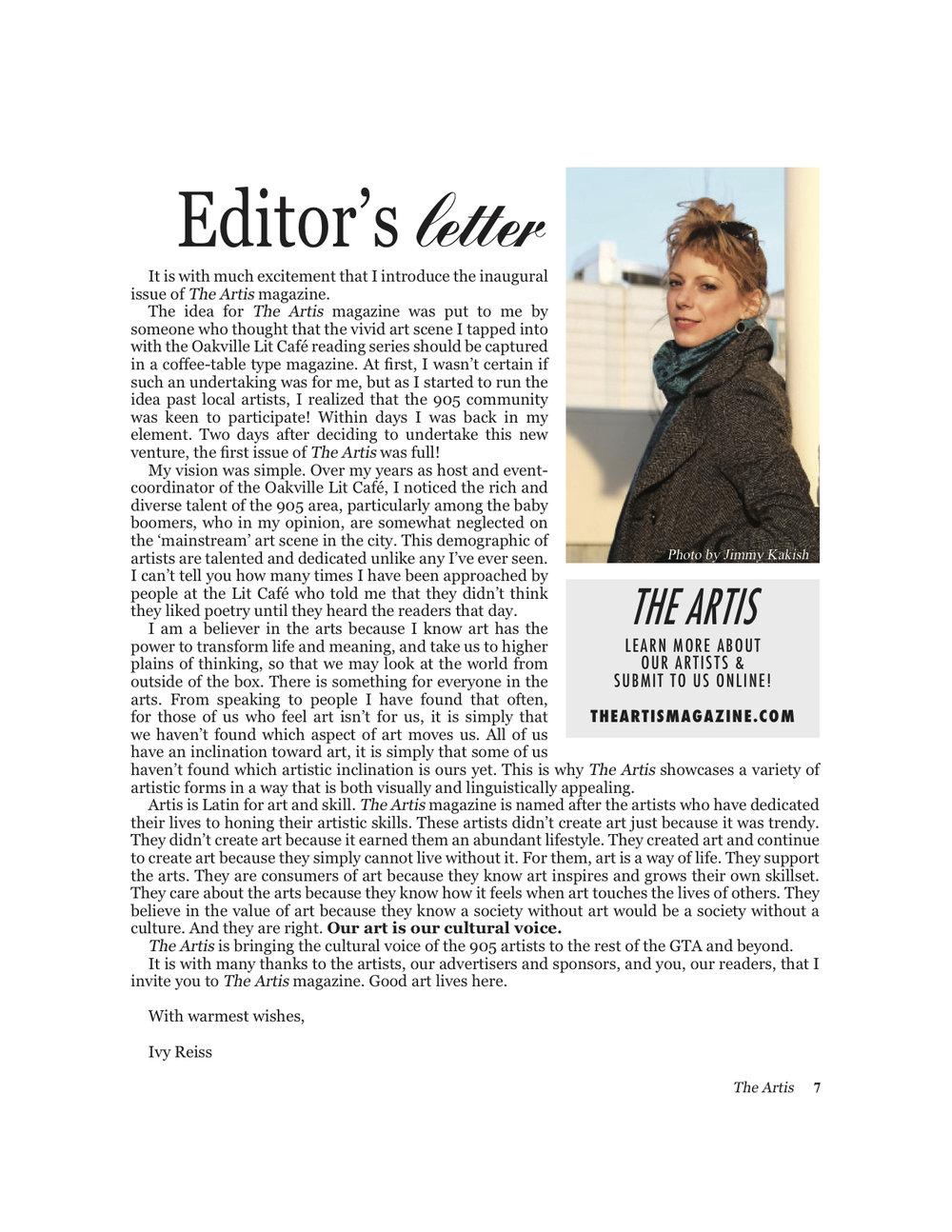 Artis 1 editors letter.jpg