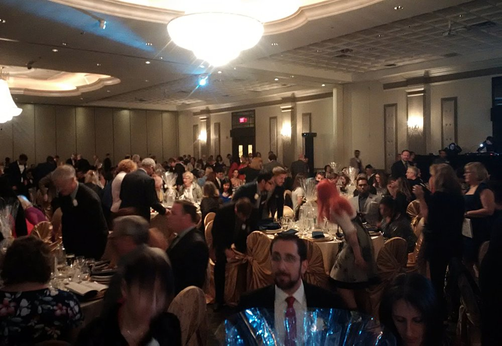 700 Guests fill the ballroom at the MARTY gala!