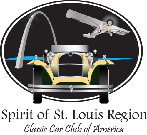 Club Logo Spirit Of St Louis Region Classic Car Club Of America - Classic car club of america