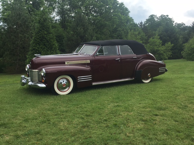 1941 Cadillac Convertible Sedan owned by Robert Pass